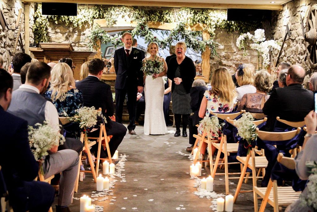 Bride and Grooms ceremony